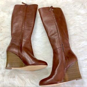 00e2f1a719e NWOT Nine West Orsella Wedge Boots NWT